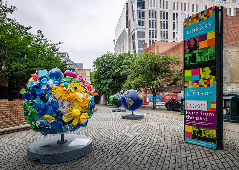 Cool Globes public art exhibit